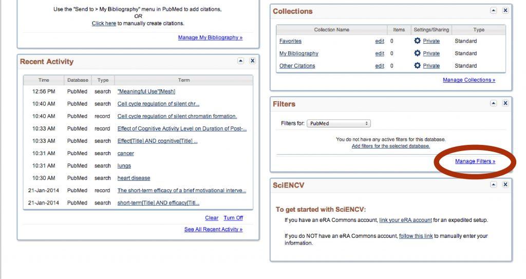 4-My NCBI account settings